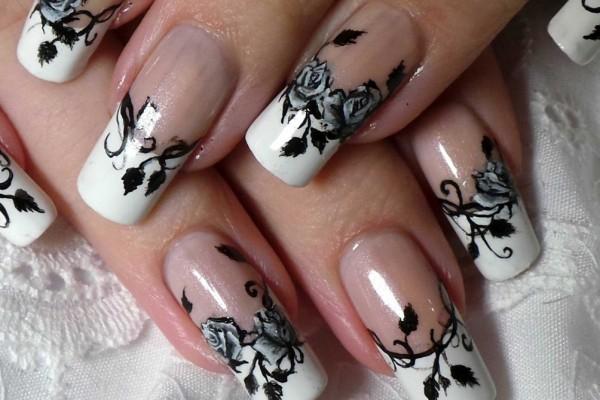 Особенности маникюра на квадратные ногти