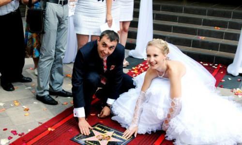 Свадьба в стиле Премии Оскара...