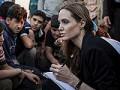 Джоли навестила беженцев в Иордании!