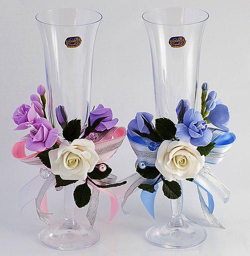 Как выбрать свадебные бокалы для шампанского!