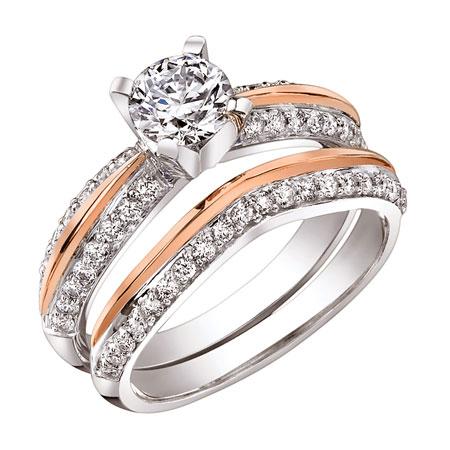 Кольцо с бриллиантом как символ бракосочетания!