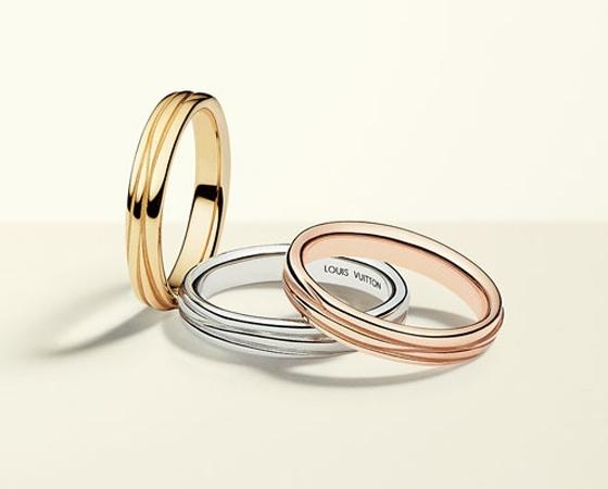 Непростое украшение: Louis Vuitton представил обручальные кольца!