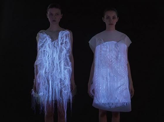 Shine Bright : Платья, оживающие от взгляда!