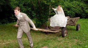 Смешная свадьба....