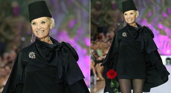 Светлана Светличная стала моделью в 73 года!
