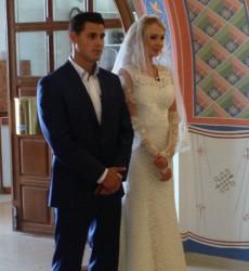 Дарья и Сергей Пынзарь обвенчались!