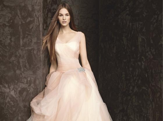 Vera Wang представила новую коллекцию свадебных нарядов 2013-2014.