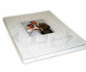 Свадебная фото книга в твердом переплете с фото обложкой