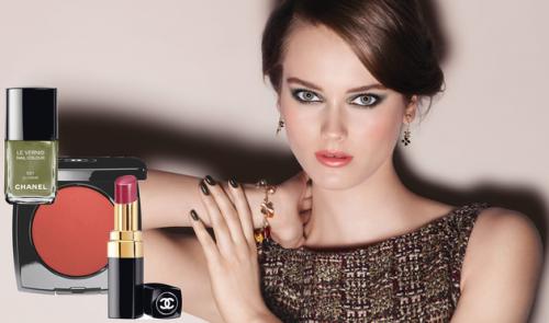 Эффектный металлик. Осенняя коллекция Chanel 2013.
