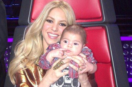 Шакира показала подросшего сына!