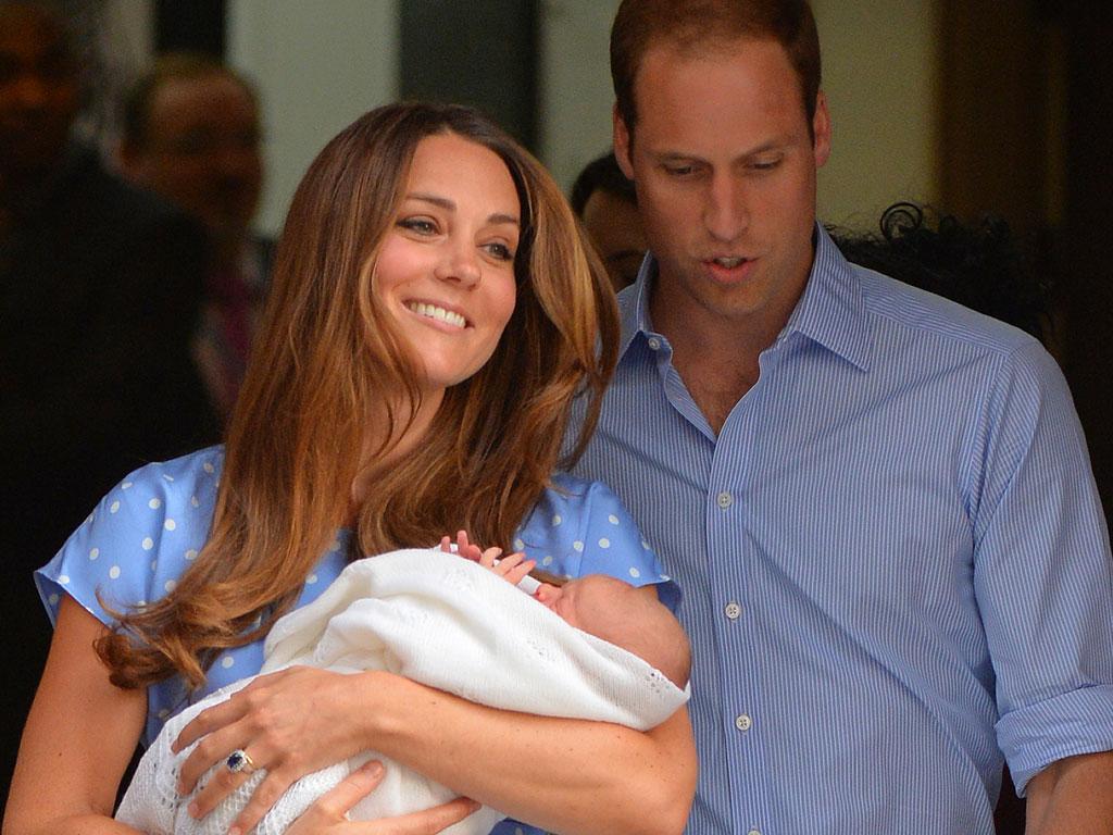 Кейт Миддлтон показала наследника британской короны!