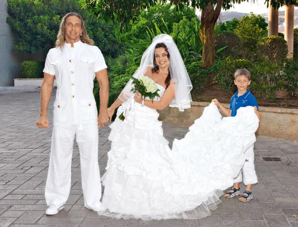 Королева и Тарзан отметили десятую годовщину свадьбу!