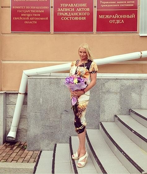 Анастасия Волочкова в ЗАГСе для подачи заявления?