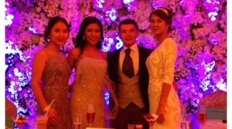 Рэпер Канье Уэст на свадьбе Айсултана Назарбаева!