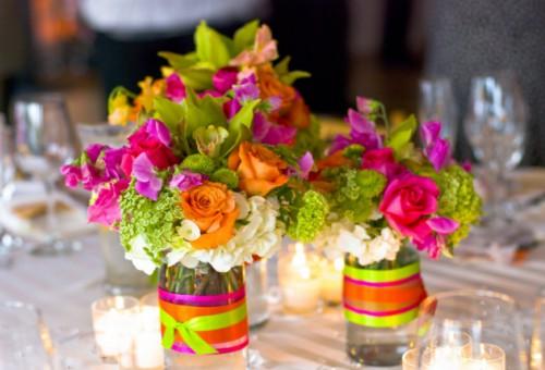 Свадьба в стиле радуги: праздник позитива и хорошего настроения!