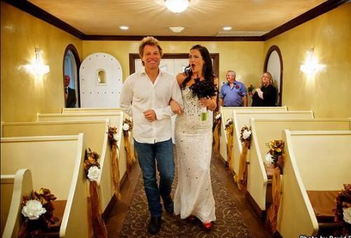 Джон Бон Джови исполнил мечту невесты!