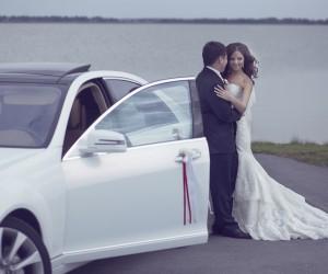 Белая роза для Максима и Юли