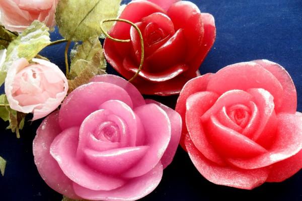 "Мыло "" Роза-знак любви."""