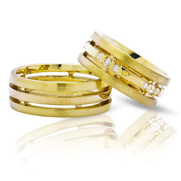 Как подобрать парные обручальные кольца?