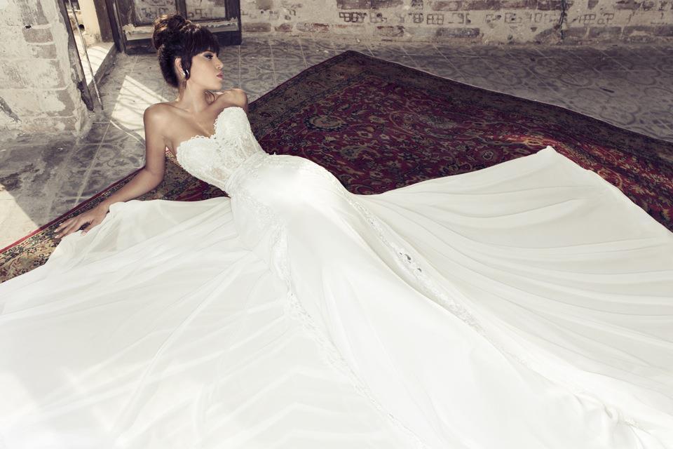 Свадебные платья 2014-2015 – модные тенденции