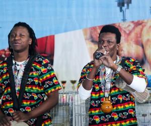 Африканское шоу с размахом открыло выставку