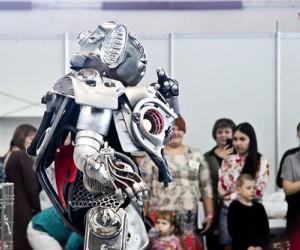 шоу гигантских роботов