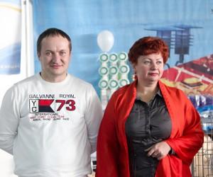 Эксперт международной категории Виталий Обинякин (Екатеринбург) и эксперт международной категории Инна Домбровская (Барнаул)