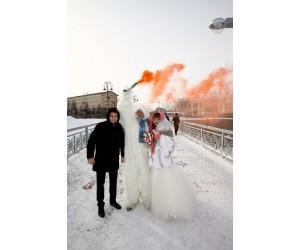 Свадьба 7 февраля  в день  открытия Олимпийских игр в Сочи 2014г.