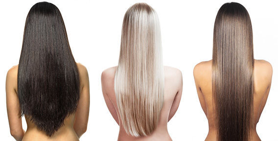Наращивание волос на длину 70 см