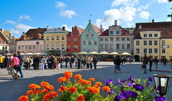 Свадебное путешествие в Таллин