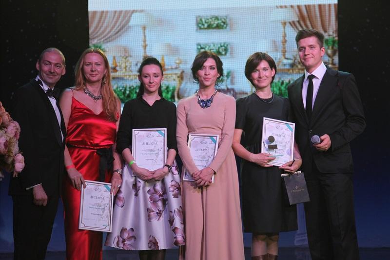 В Москве объявлены лауреаты Национальной Свадебной Премии «Wedding Fairy Tale 2015»