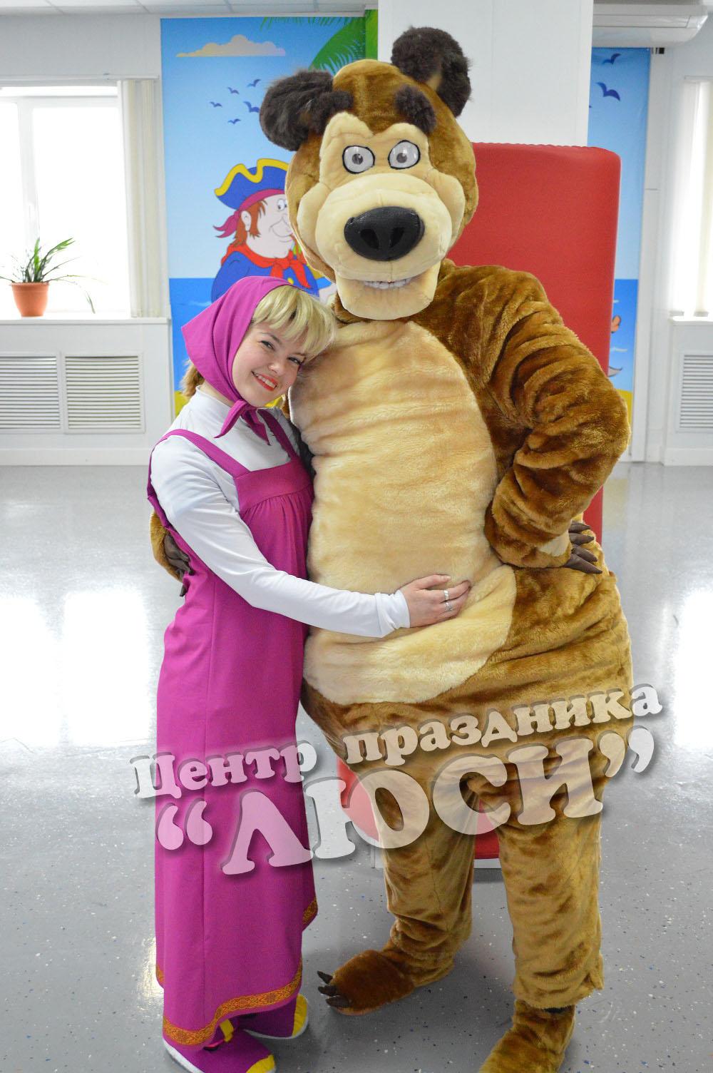 Аренда -Ростовая медведь для детских мероприятий и промо-акций
