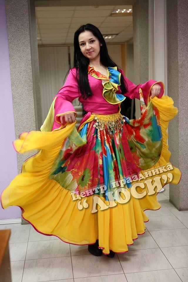 Прокат Цыганский женский костюм