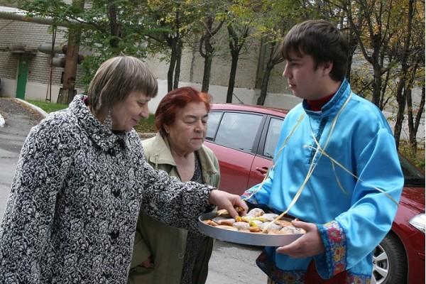 День пожилого человека Тюмень Водоканал