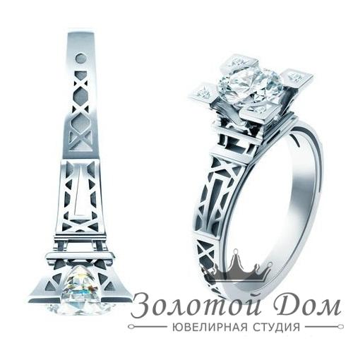 "Кольцо для помолвки ""Эйфелева башня"""