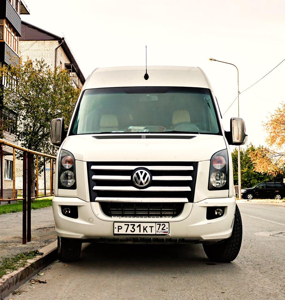 Микроавтобус Volkswagen Crafter VIP класса