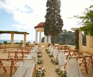 Свадьба на берегу моря в Испании