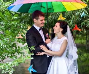 Радужная свадьба  проведение и организация