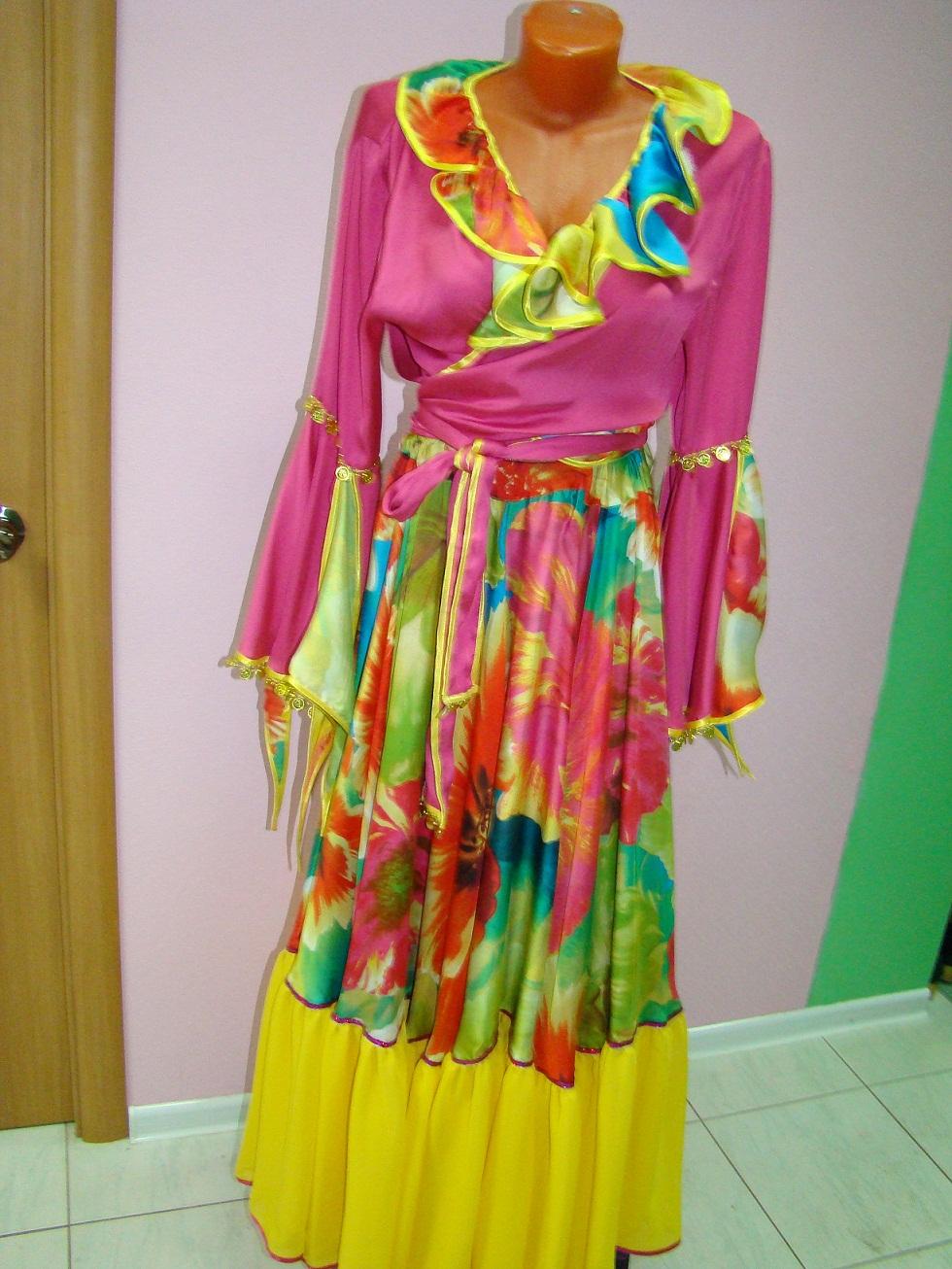 Аренда костюма Цыганский женский