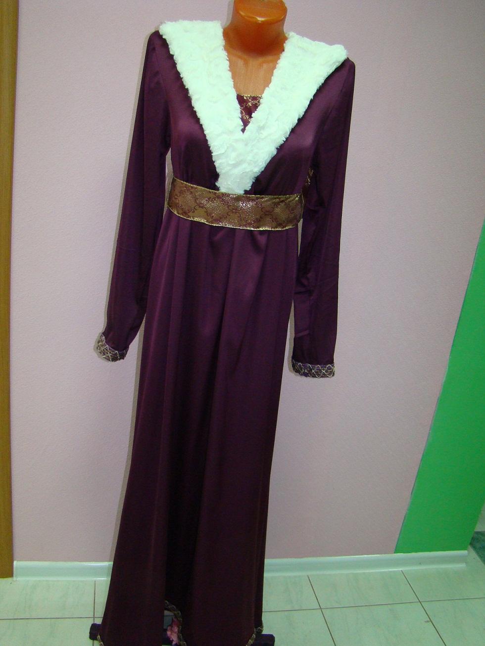 Аренда костюма - средневековый  женский 12век