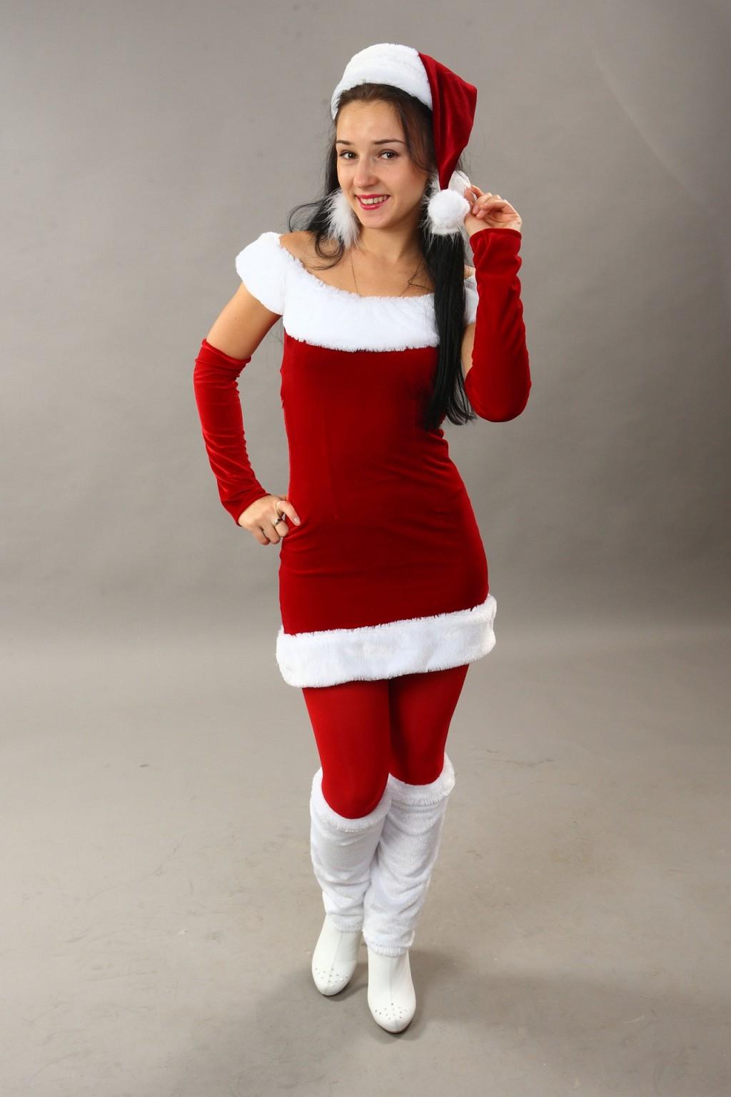 Аренда костюма миссис  Санта Клаус
