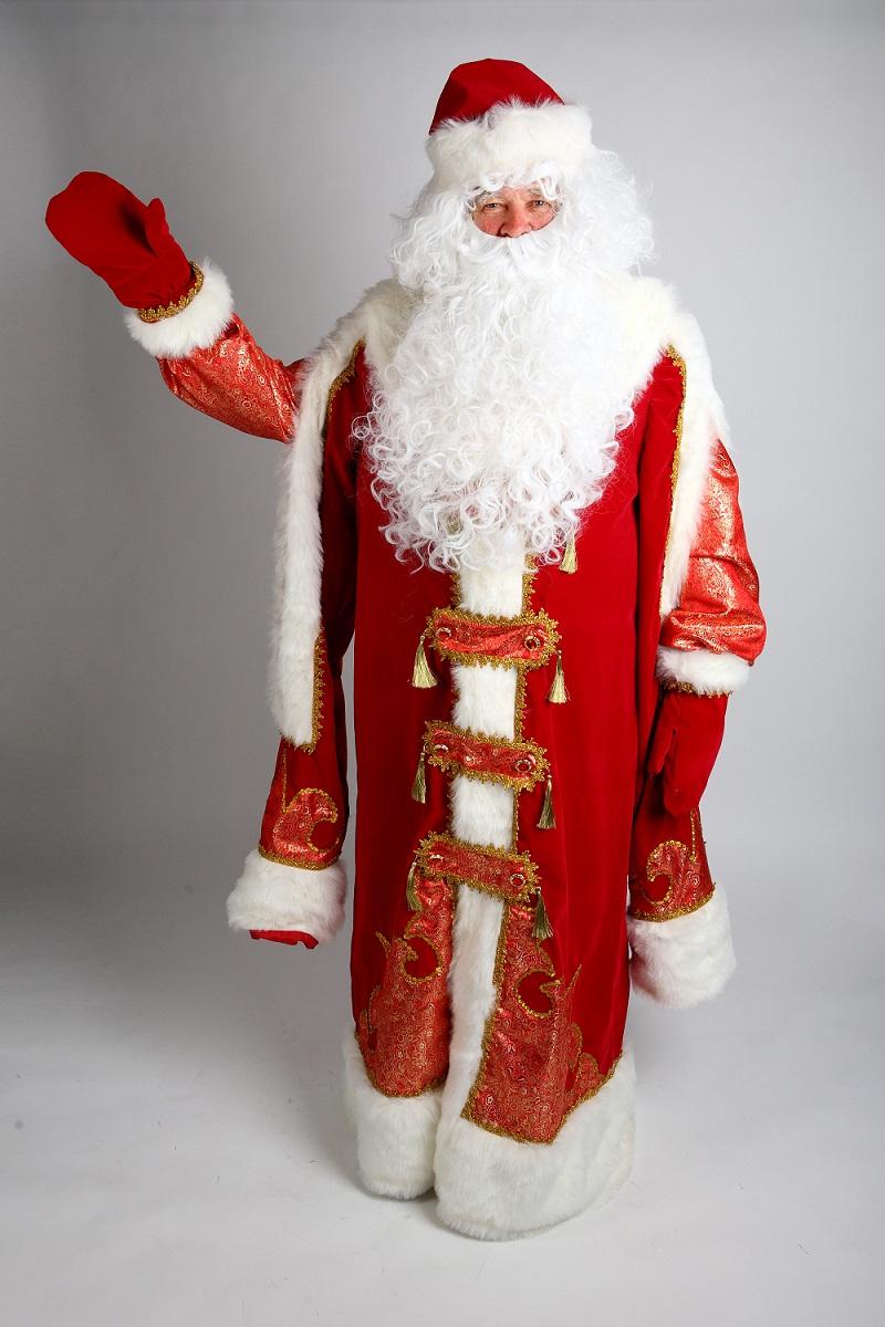 Аренда костюма Деда Мороза