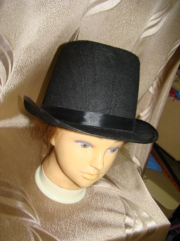 Аренда шляпы мужские Цилиндр