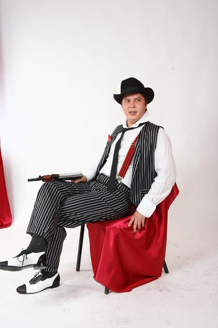 Аренда  мужского костюма и реквизита для вечеринки в стиле Чикаго, Гэтсби