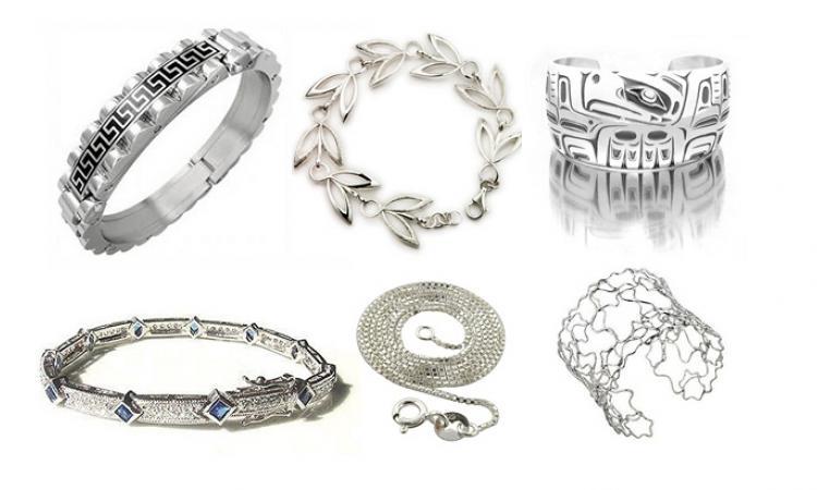 Серебряные ювелирные украшения на подарок и для себя