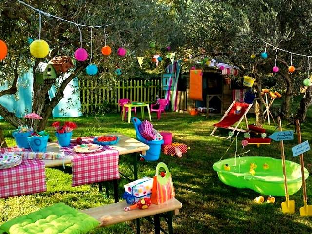 Полезные развлечения для детей на даче