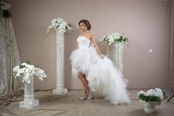 Пышное платье, удобное для танцев