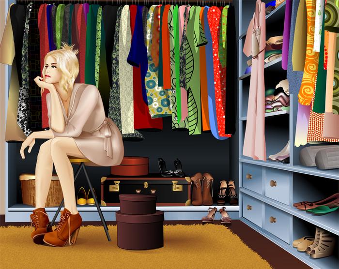 Несколько правил женского гардероба