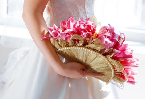 Создаём необычный букет для невесты