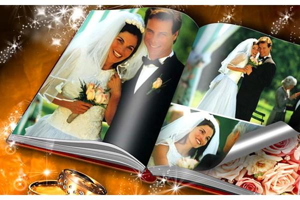Свадебная фотокнига подарит радость воспоминаний на долгие годы